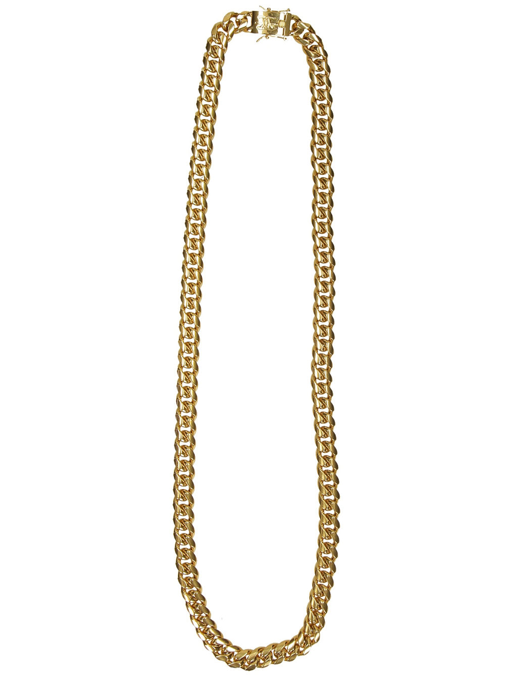 "Cuban 12mm 30"" Curved Link Chain"
