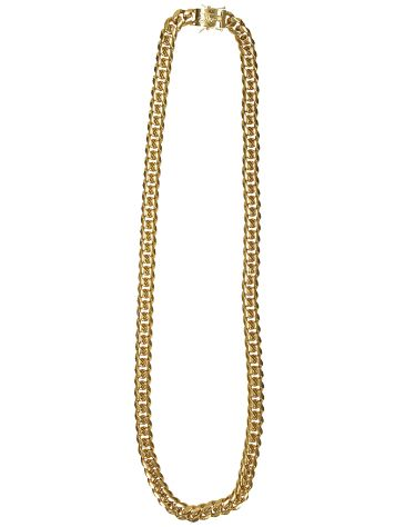 "Gold Gods Cuban 12mm 30"" Curved Link Chain"