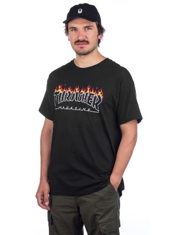 Thrasher Scorched Outline Camiseta