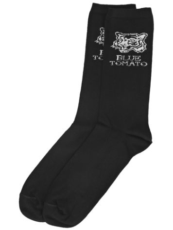 Blue Tomato Tiger Head Crew Socks