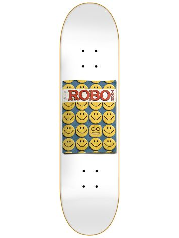 "Robotron Smile 8.2"" Skateboard Deck"