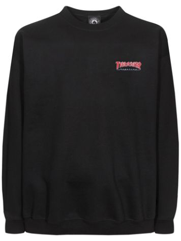 Thrasher Outlined Embroidered T-Shirt