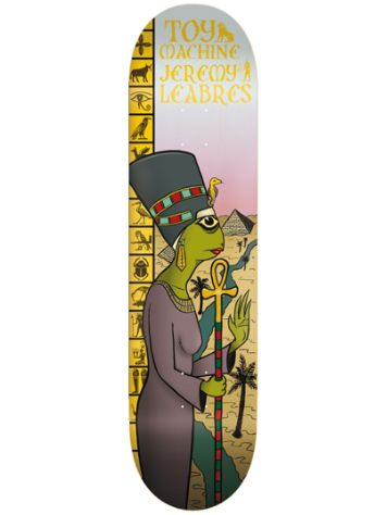 "Toy Machine Leabres Nefertiti 8.38"" Skateboard Deck"