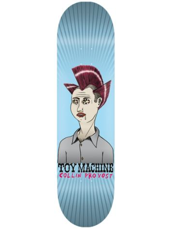 "Toy Machine Hairdo of Defiance Series 8.25"" Deck"
