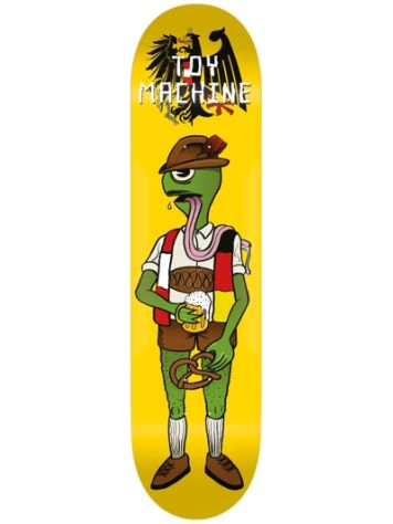 "Toy Machine Backpfeifengesicht 8.0"" Skateboard Deck"