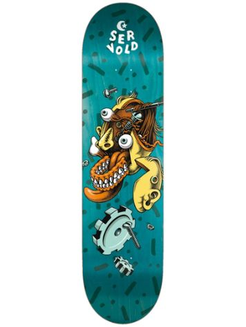 "Foundation Servold Gear Head 8.5"" Skateboard Deck"