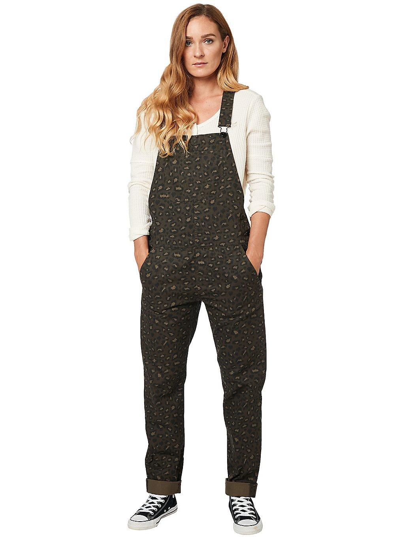 Hosen für Frauen - Fox Flat Track Jumpsuit dirt  - Onlineshop Blue Tomato