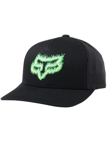 Fox Flame Head Snapback Cap