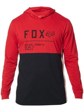 Fox Non Stop Hooded Long Sleeve T-Shirt