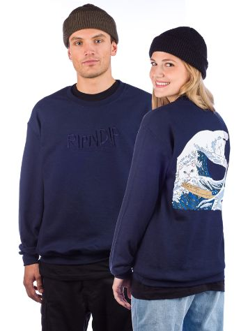RIPNDIP Great Wave Pulover