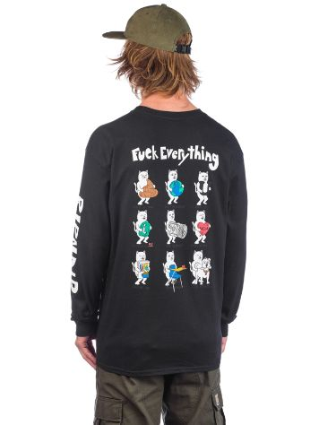 RIPNDIP Fuck Everything Camisa Manga Comprida