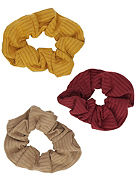 Autumn 3Pk S&L Scrunchie