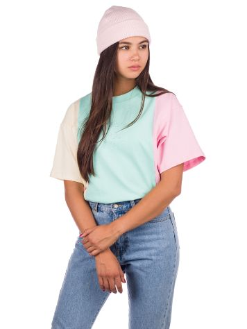 Teddy Fresh Pastel Colorblock Emb T-Shirt