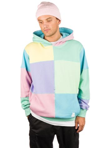 Teddy Fresh Patchwork Pulover s Kapuco