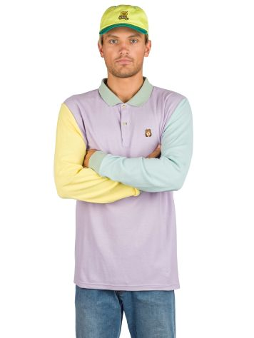 Teddy Fresh Colorblock Longsleeve Polo