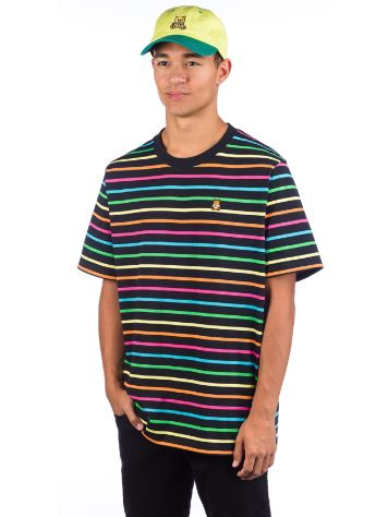 Teddy Fresh Rainbow Stripe T-shirt