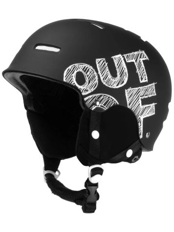Out Of Wipeout Black Board Helmet