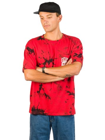Lurking Class Red & Blk Dye HD T-Shirt