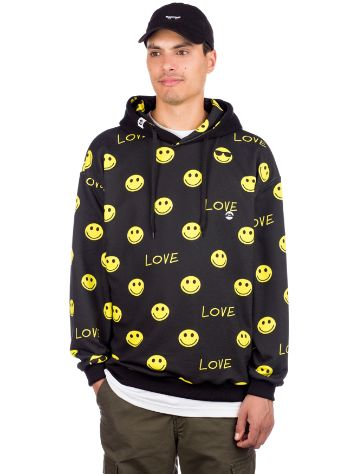 Love Dont worry Be Happy Hoodie