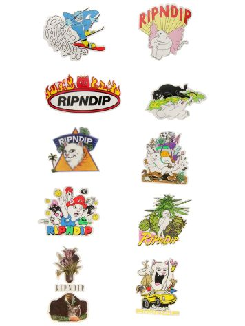 Rip N Dip Holiday 19 Sticker Pack