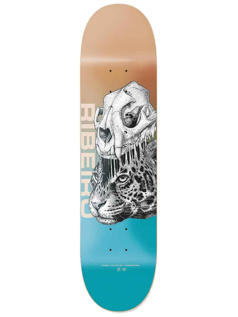 "Carlos Ribeiro Jungle 8.0"" Deck"