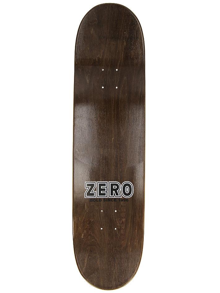 "Zero Skateboard Deck Bold Black 8.25/"""