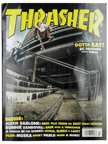 Thrasher Issues July 2019 Magazin
