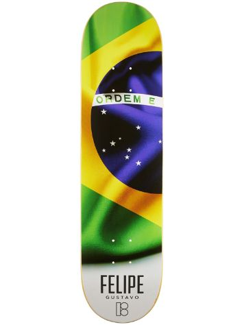 "Plan B Felipe Gustavo Roots 8.0"" Skateboard Deck"