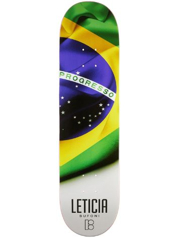 "Plan B Leticia Bufoni Roots 8.0"" Skateboard Deck"
