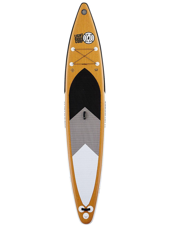 Light Inflatable Tourer Mft 14'0 SUP Board wood