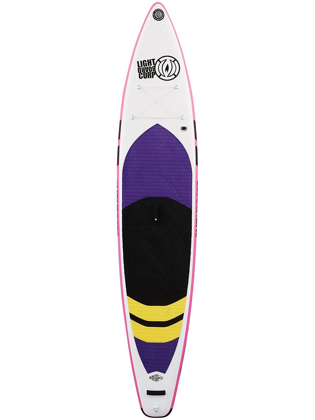 Light Inflatable Tourer 11'6 SUP Board silver