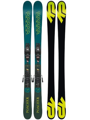 K2 Poacher 149 2019 Freeski-Set