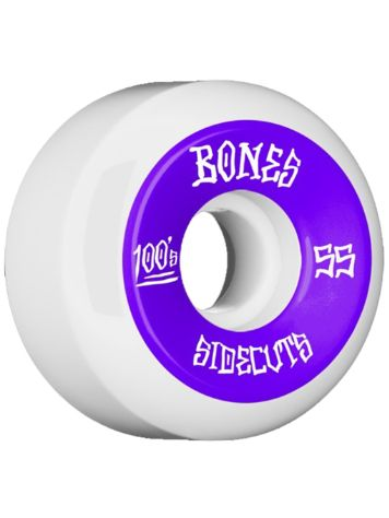 Bones Wheels 100's Og #2 V5 100A White 55mm Rollen