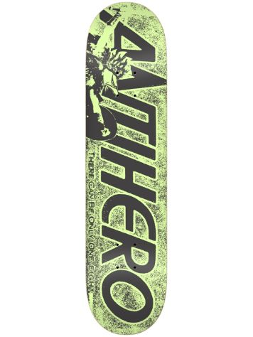 "Antihero Highlander Hero 8.06"" Skateboard Deck"