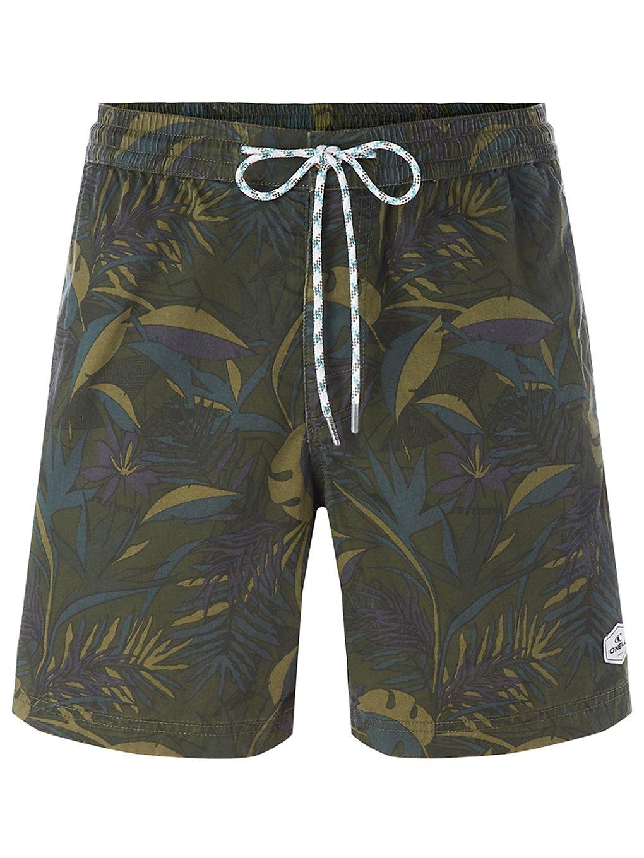 O'Neill Kamakou Walk Shorts green aop