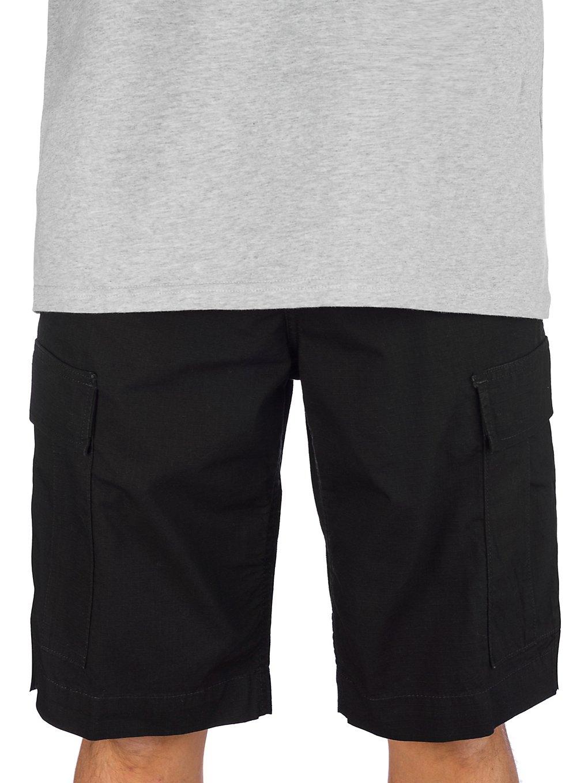 Carhartt WIP Regular Cargo Shorts rinsed black