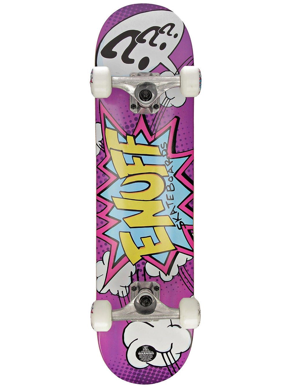 "Pow Mini 7.25"" Skateboard"