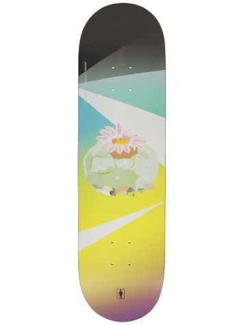 "Girl Carroll Psychodelic Plants 8.375"" Skateboard"