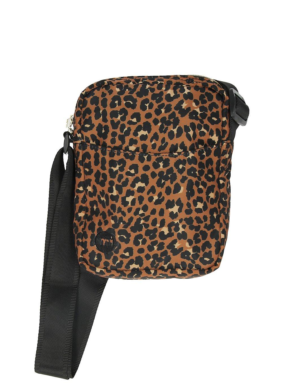 Image of Mi-Pac Flight Nylon Leopard Backpack black Uni