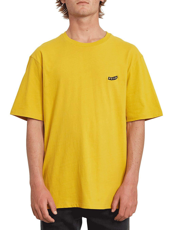 volcom pistol blanks bxy t-shirt gold
