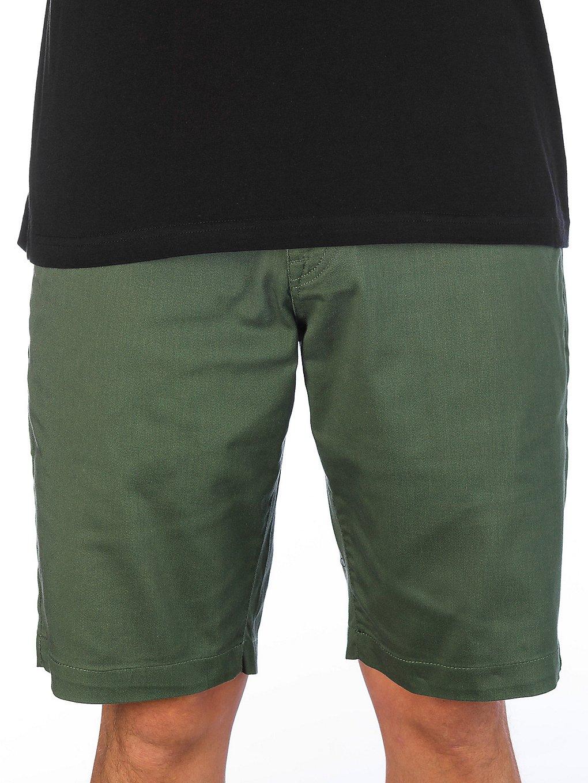 Volcom Frickin Modern Stretch Shorts cilantro green