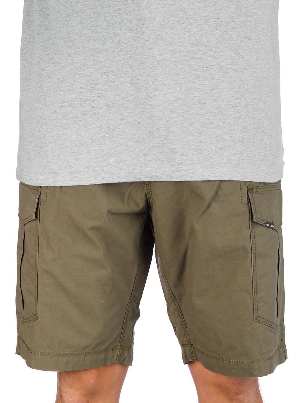 Volcom Miter ll Cargo Shorts army green combo