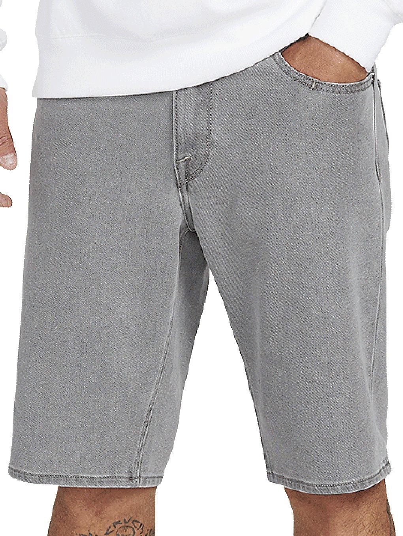 Volcom Solver Denim Shorts daze grey