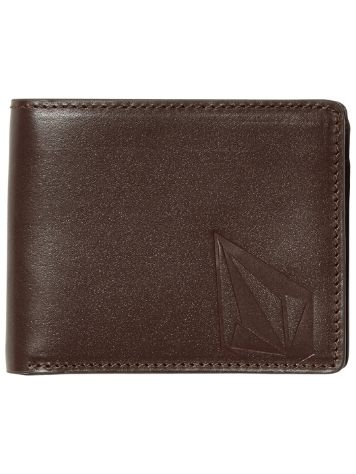 Volcom Straight Leather Geldbörse