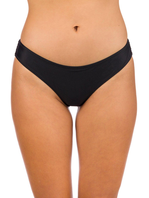 Volcom Simply Solid Cheekin Bikini Bottom black