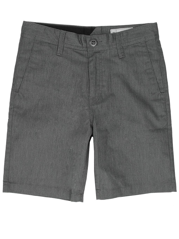Volcom Frickin Chino Shorts charcoal heather