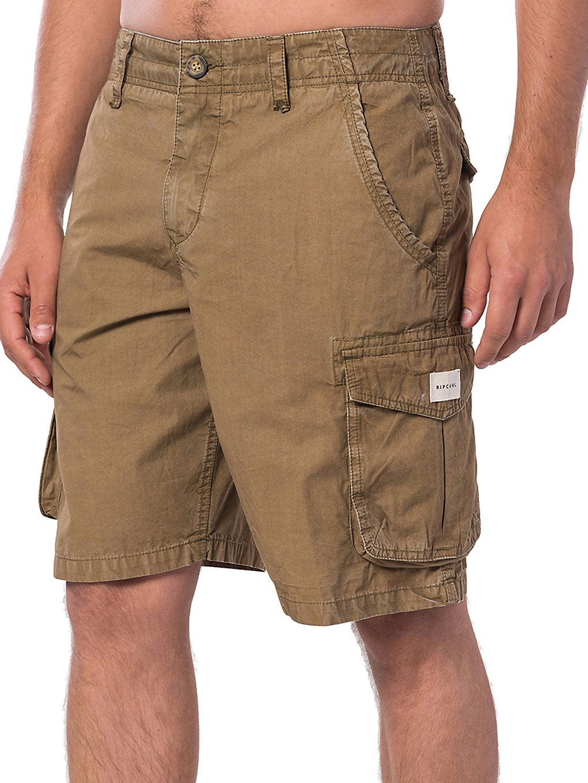 Rip Curl Trail Walk Shorts dark khaki