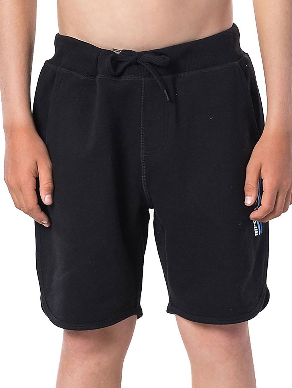 Rip Curl Track Fleece Shorts black