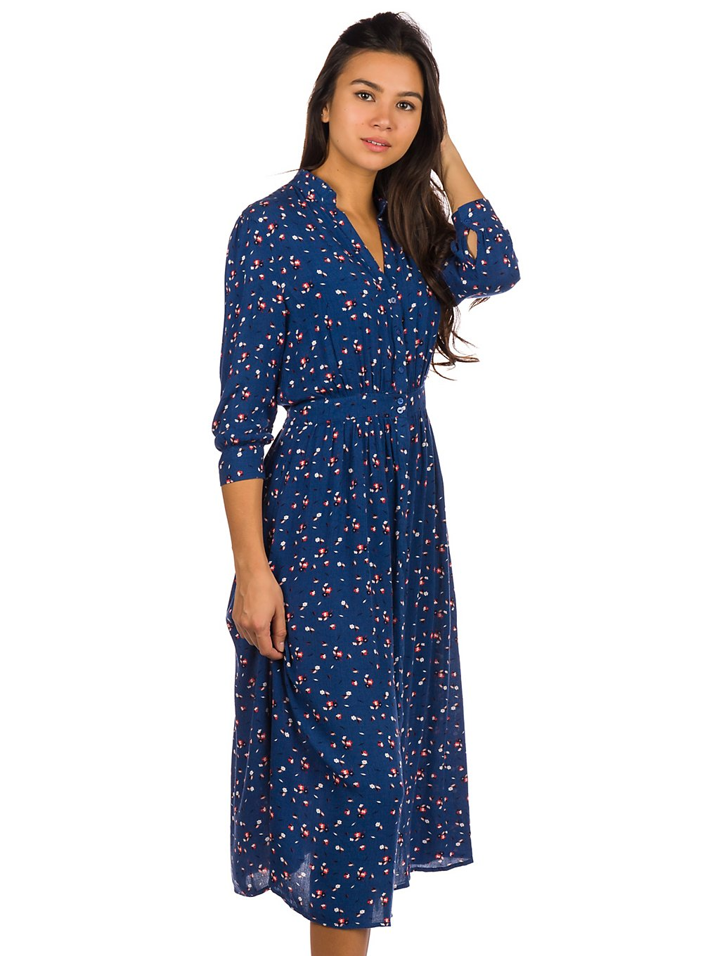 Rip Curl Beach Muse Long Dress pacific blue