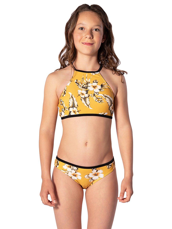 Rip Curl Island Time Bikini mustard